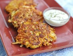 Sweet Potato Latkes - Can't wait for Hannukah!