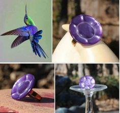 Purple Statement Ring - Vintage Button Ring - Vintage Art Deco Flower Button Ring - Vintage Purple Adjustable Ring #statementring #purple #vintagebutton Art Deco Flowers, Vintage Rings, Vintage Stuff, Button Flowers, Statement Rings, Etsy Seller, My Etsy Shop, Handmade Jewelry, Purple