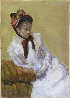 Mary Cassatt. Selfportrait.