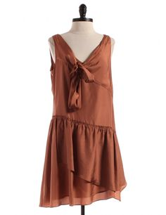 Brown Dress by J. Crew - Size 6 - $36.95 on LikeTwice.com