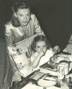 Judy Garland and Liza Minelli