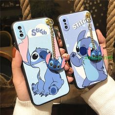 Stitch Phone Case iPhone X Case / iPhone 8 Case / iPhone SE, Plus Case / Samsung Galaxy Gift Case Cover - Lilo and stitch♥️ - Phoneaccessories 2020 Iphone 8, Coque Iphone, Iphone Phone Cases, Iphone Case Covers, Cute Cases, Cute Phone Cases, Lilo Et Stitch, Iphone Cases Disney, Cute Stitch