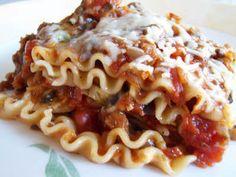 "Vegan Food; More Than Tofu and Sprouts!: Easy Vegan Lasagna with Cheesy Tofu ""Ricotta"" filling"