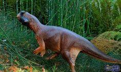 """جسد """"الديناصور الجميل"""" في الصين يحمل خطوطًا…:  توصل العلماء إلى شكل ديناصور صغير عاش قبل 120 مليون سنة في غابات الصين، بعد دراسه جلده…"""