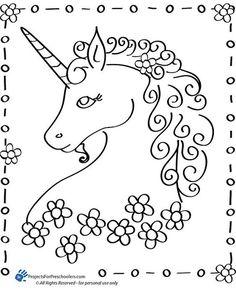 Printable Unicorn Coloring PagesJlongok Printable | Jlongok Printable