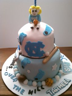 Who's making me this for my birthday? UNC cake