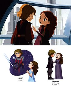 Anakin and Padmé : The Gallery
