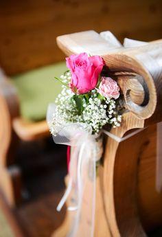 DIY Church flowers