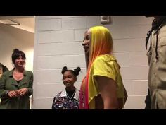 Lay Lay meets Cardi B for the first time backstage at Kobe Bryant Michael Jordan, Lay Lay, Black Kids Hairstyles, Billy Ray Cyrus, Rap Video, Stylist Tattoos, Like A Mom, Roblox Pictures, American Rappers