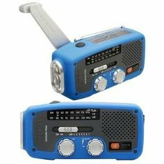 Eton Corp. Solar Dynamo Powered Radio Blu (nfr160wxbl) - by Eton Corp.. $40.77. Solar/ Dynamo powered AM/FM/Weather band radio; NOAA Weather band, LED flashlight, Solar and crank power sources, USB cell phone charger, no batteries needed / Blue