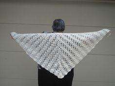 Ravelry: Bridal Shawl #80205AD pattern by Lion Brand Yarn
