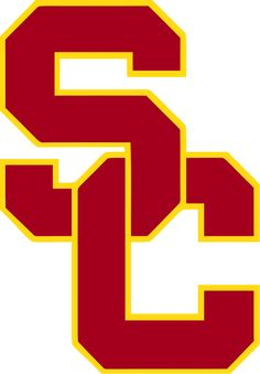 'usc logo' Sticker by College Letters, Usc Trojans, School Spirit, Cool Logo, College Football, Dorm Posters, Logo Stickers, Custom Patches, Chemises