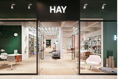 STOREHAY China 2017 Design store concept for Danish design brand HAY in China starting with three stores in Chengdu, Suzhou and. Herringbone Wooden Floors, Wooden Flooring, Hay Store, Copenhagen Apartment, Retail Concepts, 2017 Design, Retail Space, Home Studio