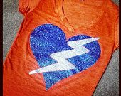 thunder up custom shirt okc shirt basketball. $25.00, via Etsy.