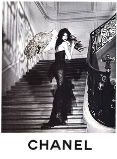stephanie-seymour:  Stephanie SeymourChanel 1995