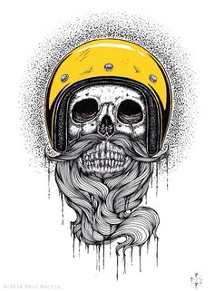 Great skull beard