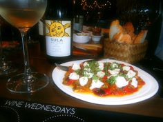 Spanish tapas perfectly complimented with refreshing wine!