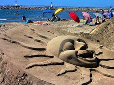 Sand sculpture by Marite2007, via Flickr