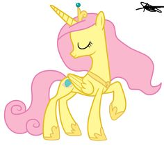Princess Cadence Version Fluttershy by ~AndreaMelody on deviantART