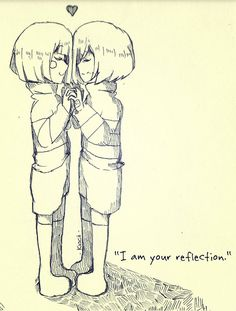 I am your reflection by Kiacii