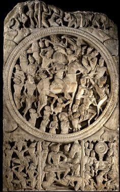 【大英博物館】3世紀阿馬拉瓦蒂佛 Asian Sculptures, Indian Architecture, Popular Art, Buddhist Art, Central Asia, British Museum, Indian Art, Saree Blouse, Buddhism