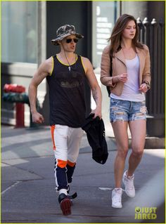 Jared Leto in NYC