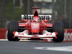 Michael Schumacher - Ferrari F2003GA - 2003