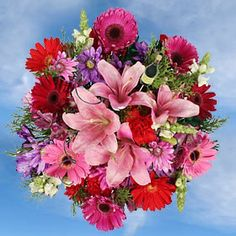 Beautiful Celestial Bouquet with the freshest flowers to celebrate and decorate any space at home office or as a gift http://globalrose.com/flowers/xmas-celestial-holiday-arrangement-2.html