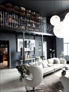 dark elegant interior