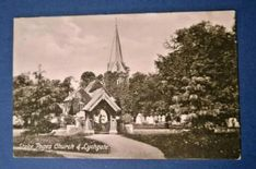 Unused F. Frith Postcard of Stoke Poges Church and Lychgate in Buckinghamshire Vintage Cards, Vintage Photos, Marlow Buckinghamshire, Picture Postcards, Print Pictures, Free Delivery, Prints, Painting, Ebay