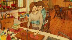 L'amour se nourrit de choses si petites qu'on ne les voit pas toujours. Un artiste a corrigé ça !