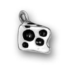 Sterling Silver 7 4.5mm Charm Bracelet With Attached 3D Kitchen Coffee Tea Cup Saucer Charm