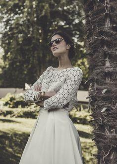 Laure de Sagazan   Robes de mariée   Collection 2015
