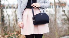 Outfit: Rosa mit Glitzersöckchen, weil's ab & zu einfach mal was Anderes sein muss | BILDHÜBSCH