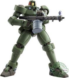 "New Bandai Tamashii Nations Leo Moss Green ""Gundam Wing"" - Robot Spirits #Bandai"