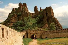 Belogradchik Fortress - Bulgaria - The Belogradchik Fortress is situated at a distance of 1.5 km from the town of Belgradchik among the renowned Belogradchik rocks.