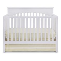 Layla 4-in-1 Crib - White