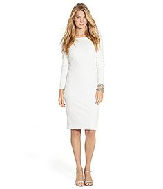 Lauren Ralph Lauren Sequined LongSleeved Dress #Dillards