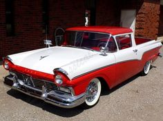 Buds 1957 Ford Ranchero had a McCulloch  Supercharger. High tech for late 1950's / early 1960's. The ultimate street sleeper and occasional strip racer.
