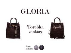 Gloria : torebka ze skóry naturalnej z opcją noszenia w ręku i na ramieniu. Dostępna w 3 kolorach: kawowym, szarym i czarnym: http://www.perfectto.eu/gloria-torebka-ze-skory-naturalnej :) #torebkazeskóry