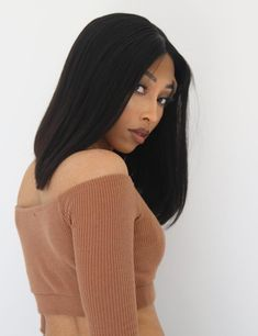 Custom Colored Brazilian Straight lace front unit with density. Taylor comes with a built in adjustable strap and titanium teeth combs. *TAYLOR is an AVH IN STOCK & READY TO SHIP Unit! All Virgin Hair, Wig Cap, Natural Brown, Lace Wigs, Dreaming Of You, Teeth, Fill, Ship, Color