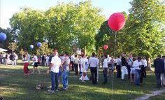 Une garden party comme un temps d'échange entre les participants à la soirée du 22 juin organisée par le CJD
