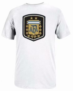 2018 World Cup Jersey Argentina Replica White Tee Argentina World Cup 2018, World Cup Jerseys, Soccer Kits, Soccer Jerseys, Fifa World Cup, Jersey Shirt, White Tees, Sportswear, Mens Tops