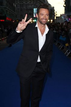 Hugh Jackman.  Oh Hugh-ee you sing, dance, act if only you could cook.  : /