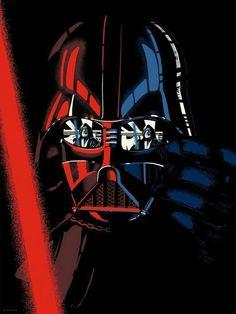 This week features interpretations of Batman, Darth Vader, Pulp Fiction, The Smurfs and more! Vader Star Wars, Darth Vader, Star Trek, Starwars, Cuadros Star Wars, Pop Culture Art, Geek Culture, Star Wars Images, Star Wars Wallpaper