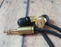 Double Tap Audio: High Quality, Handcrafted Audio Solutions - Real Durable Bullet Headphones