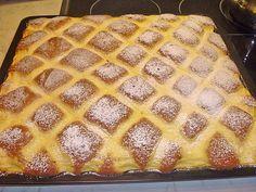 Steppdecken - Kuchen 13 Healthy Breakfast Smoothies, Healthy Drinks, Paleo Dessert, German Bread, Czech Recipes, Sweet Bakery, Sweet And Salty, No Bake Desserts, No Bake Cake