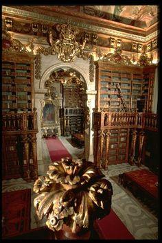 University library - Coimbra - Portugal