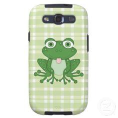 Cartoon Frog Samsung Galaxys3 Vibe case Galaxy SIII Covers