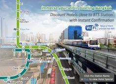 Immerse yourself in bustling Bangkok - Discount Hotels close to BTS Station, room rate from HK$339, Details: http://www.asiatravelcare.com/mktg/20150504_bangkok_hotel-eng.htm